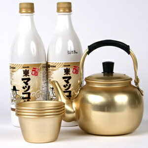 Of the old Kettle Marco reset ■ Korea food ■ makgeolli gift