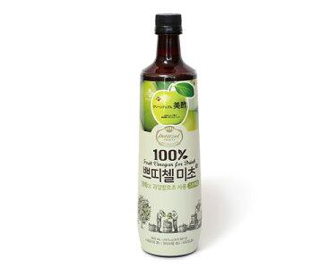 美酢(ミチョ)900ml☆グリーンアップル☆/韓国食品/ダイエット/果実酢/発酵酢/フルーツ酢/果実酢/グリーンアップル