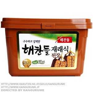 500 g of ヘチャンドル miso ■ Korea food ■ Korean food / Korea food / seasoning / Korea source / Korea miso / convention type miso / miso soup