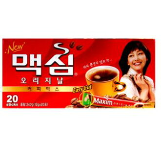 Original Maxim coffee mix 20 PCs ■ Korea food ■ Korea cuisine and Korea food materials / coffee / Korea drinks / soft drinks / souvenir / / Korea souvenir gifts and Midyear / gift / presents / you gift