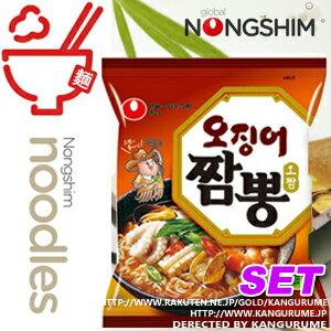 イカチャンポン ■ Korea food ■ low-price Korea food material Korea cuisine Korea souvenir / Korea ramen / emergency / disaster prevention / disaster toy / noodles / instant ramen / spicy ramen and spicy ramen / noodles / オジンオ /