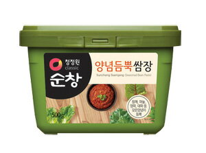 """Moy"" ssamjang sanchu miso 500 g ♦ Korea food ♦ Korea cuisine / Korea food materials / seasoning / Korea source / Korea miso / samgyeopsal miso / yakiniku miso /SmaStation nnn"