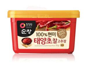 "3 kg of ""スンチャン"" コチュジャン ■ Korea food ■ Nippon Television ZIP/ sushi / Korean food / Korea food / seasoning / Korea source / red pepper / コチュジャン / spice / capsaicin / sharp tastes"