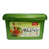 "Miso /SmaStation tele dynasty for 1 kg of ""ヘチャンドル"" Sam Jean ""サンチュ miso"" ■ Korea food ■ Korean food / Korea food / seasoning / Korea source / Korea miso / roasted meat"
