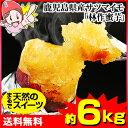まるで天然のスイーツ 鹿児島県産サツマイモ「林作蜜芋」約6kg(約3kg×2箱)