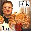 巨大な毛蟹 1kg ボイル冷凍 北海道産の毛ガニです。毛がにの醍醐味でもあるカニ味噌とかに身と絡めてお召し上がりください。かに通販 蟹みそ北海道グルメ食品 魚介類・シーフード カニ 毛ガニ 冷凍(ギフト)
