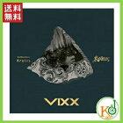 【K-POPCD・送料無料・予約】VIXXKRATOS3集ミニアルバムCD(8809484118773)