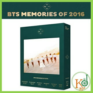 【K-POPDVD・クリアファイル・予約】 BTS MEMORIES OF 2016 DVD /防弾少年団(リージョン:3)