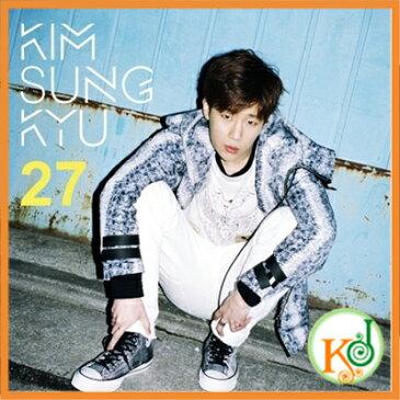 【K-POPCD・送料無料・クリアファイル・予約】 キム・ソンギュ (INFINITE) - 27 (2NDミニアルバム)(8804775062445)