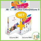 【K-POP・韓流】JBJミニ2集[TrueColors]VolumeII★2種セット/おまけ:生写真(8804775087172-2)