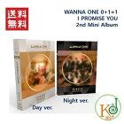 【K-POP・韓流】WANNAONE[0+1=1(IPROMISEYOU)]2ndMiniAlbumバージョン選択(DayVer、NightVer)ワナワン(8809603540096-1)