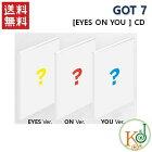 【K-POP・韓流】GOT7EyesOnYou8thミニ・アルバム:アイズ・オン・ユーバージョンランダム[輸入盤][CD]/ガットセブン/初回限定なし(8809440338061-1)