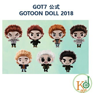 韓国(K-POP)・アジア, 韓国(K-POP) GOT7 GOTOON GOTOON DOLL 2018 (7070180712-1)