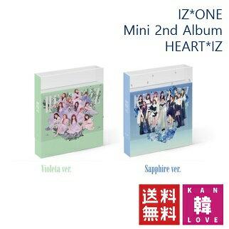 韓国(K-POP)・アジア, 韓国(K-POP) IZONE 2 HEARTIZ Mini 2nd Album CD IZONE (8809658311085-02)(880965831 1085-02)