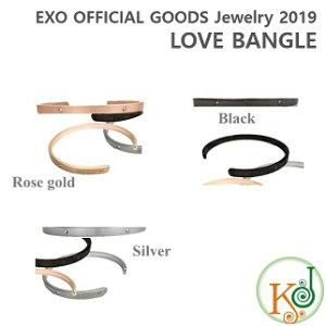 【K-POP・韓流】EXO 公式グッズ OFFICIAL Jewelry 2019 LOVE BANGLE★スホ ver. ラブ バングル SUHO エクソ /おまけ:生写真(7070190109-9)