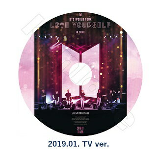 韓国(K-POP)・アジア, 韓国(K-POP) K-POP DVDBTS LOVE YOURSELF IN SEOUL (2019.01.) BTS WORLD TOUR RM KPOP DVD(7070190614-21)