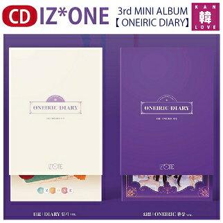 CD, 韓国(K-POP)・アジア  IZONE 3ONEIRIC DIARY IZONEPRODUCE48 46 AKB48 HKT48(8809704415637-01)