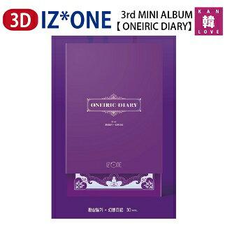 【おまけ付き】 IZONE ミニ3集アルバム★3D ver.【 ONEIRIC DIARY 】IZ*ONEアイズワン3rd MINI ALBUM/PRODUCE48 プデュ46 AKB48 HKT48/おまけ:生写真+トレカ(8809704415842)