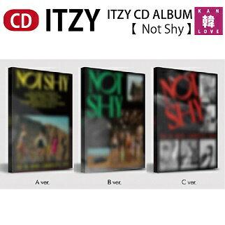 韓国(K-POP)・アジア, 韓国(K-POP) ITZY CD ALBUM Not Shy CD JYP(8809633189067-01)