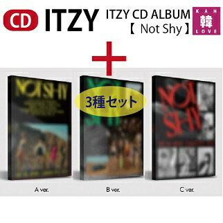 CD, 韓国(K-POP)・アジア ITZY CD ALBUM Not Shy 3CD JYP(8809633189067-02)