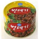 韓国珍味のカイコのさなぎ缶◆高タンパクで栄養価の高くお酒のつまみとして、味付けは、砂糖・塩でシンプルな味です。サンミ ポンデギ(サナギ缶)130g