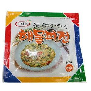 ■マッダムン 冷凍海鮮チヂミ260g(130g×2)