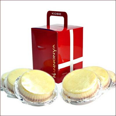 観音屋『デンマークチーズケーキ』