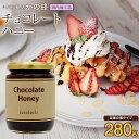 【アウトレット】訳あり 国内加工 チョコレートハニー280g はちみつ ※賞味期限2019年6月まで蜂蜜専門店 かの蜂