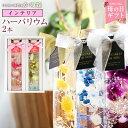 【母の日ギフト】ハーバリウム2本 Herbarium 癒しの...