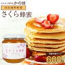 国産 さくら蜂蜜 600g 国産純粋蜂蜜 数量限定 完熟 は