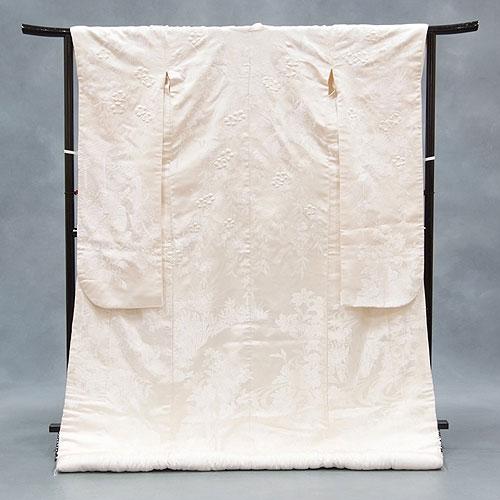 【レンタル】白無垢レンタルフルセット「白地華京優人」和装 打掛 白無垢レンタル 結婚式 神前式 花嫁衣裳刺繍 往復送料無料