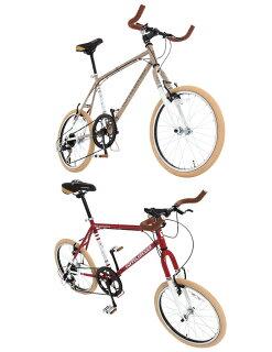 20インチミニベロ260Parceiro[7段変速折りたたみ自転車ブルホーンDOPPELGANGERドッペルギャンガー]