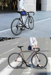 700Cシングルスピードブラウンピストロードバイククロモリフレームドロップハンドル自転車