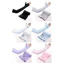 UVカット シームレス アームカバー 手の甲を覆う手袋型 日焼け対策 冷感 涼しい 紫外線カット 吸水速乾 スポーツ ランニング ジョギング 可愛い メンズ レディース 兼用 ロング【送料無料】