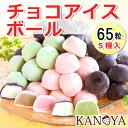 アイス ギフト 【送料無料】チョコアイスボールセット(65粒入) (短...