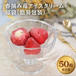 春摘み苺のアイスクリーム福袋(50粒入)