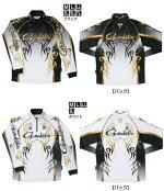 2WAYプリントジップシャツ(長袖)GM-3531