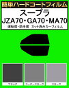 簡単ハードコートフィルム 運転席、助手席 スープラ JZA70・GA7...