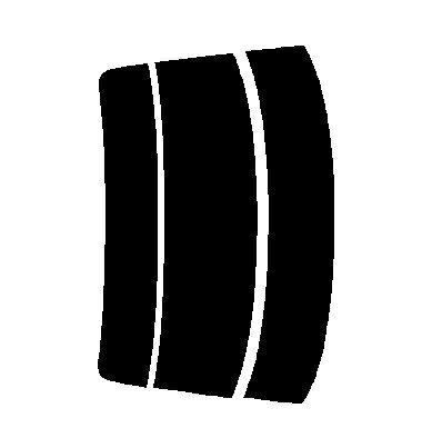 ▼原料着色ハードコートフィルム リヤのみ シルビア S15 カット済みカーフィルム アイケーシー株式会社製のルミクールSDフィルムを使用