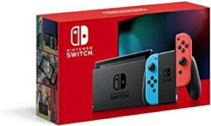 Nintendo Switch 本体 (ニンテンドースイッチ) Joy-Con(L) ネオンブルー/(R) ネオンレッド(バッテリー持続時間が長くなったモデル)[新品]
