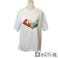 FENDI【フェンディ】レディーストップス半袖TシャツサイズSレインボースパンコールロゴFS7011A5HUホワイト【USED-A】【質屋かんてい局名古屋西店】