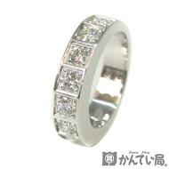 Cartier【カルティエ】テクトニック9Pダイヤモンドリング指輪750K18WG18金ホワイトゴールド#5010号7.8g【USED-SA】【質屋かんてい局名古屋西店】