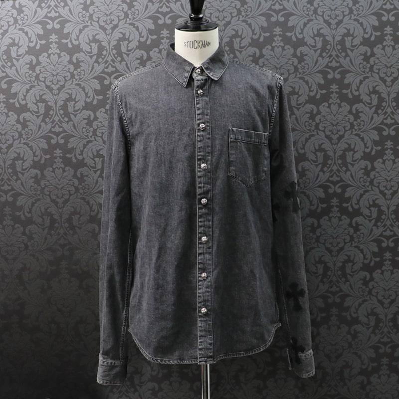 トップス, カジュアルシャツ CHROMEHEARTSL20-195