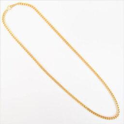 【中古】 2メンネックレス K18 ゴールド 金 2面 約30.2g 全長約50cm 喜平ブレスレット【楽ギフ_包装選択】