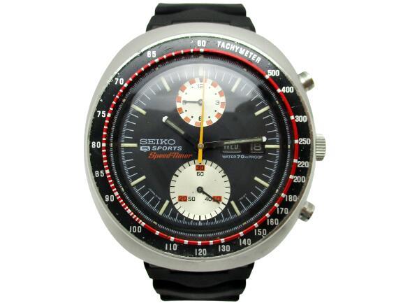 腕時計, メンズ腕時計 SEIKO 6138-0010 5SPORTS SPEED-TIMER SS SS 21-1996H