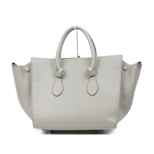 CELINE Bag 173823TKB Beige Handbag [Used]