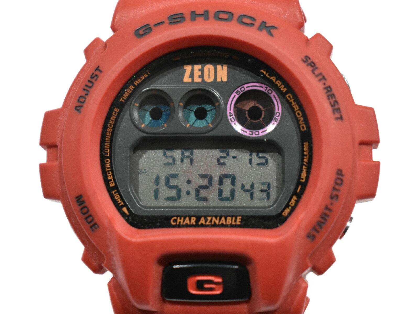 腕時計, メンズ腕時計  CASIO30 DW-6900FS MS-06S ZAKU2