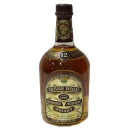 【未開封】CHIVAS REGAL シーバスリーガル 12年 750ml 43% スコッチ ウイスキー【古酒・中古】松前R56店