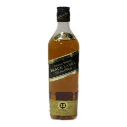 Johnnie Walker Black Label ジョニーウォーカー 黒ラベル 750ml 43% スコッチ ウイスキー【古酒・中古】松前R56店