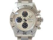 【BREITLING】ブライトリングスーパーオーシャンクロノスチールフィッシュA13341メンズ腕時計自動巻き【中古】